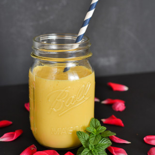 The best Mango Lassi recipe using mango pulp
