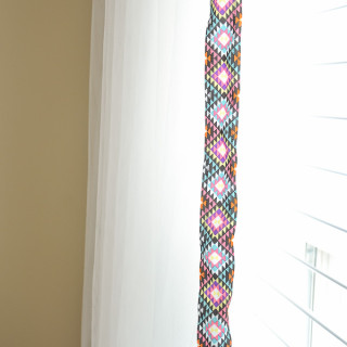 IKEA Lill curtains hack