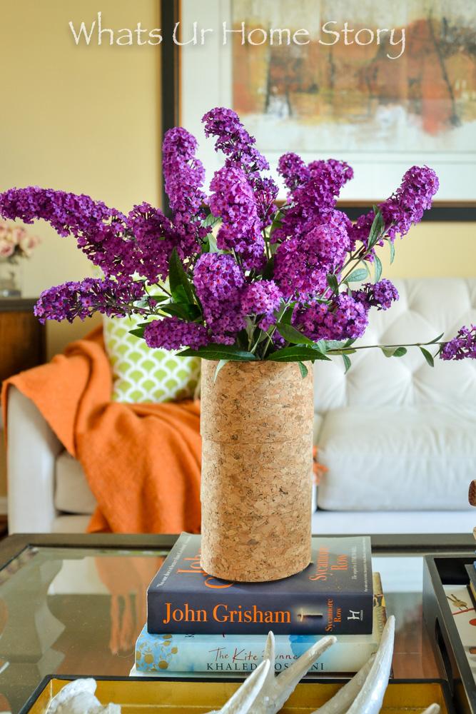 DIY Cork Vase
