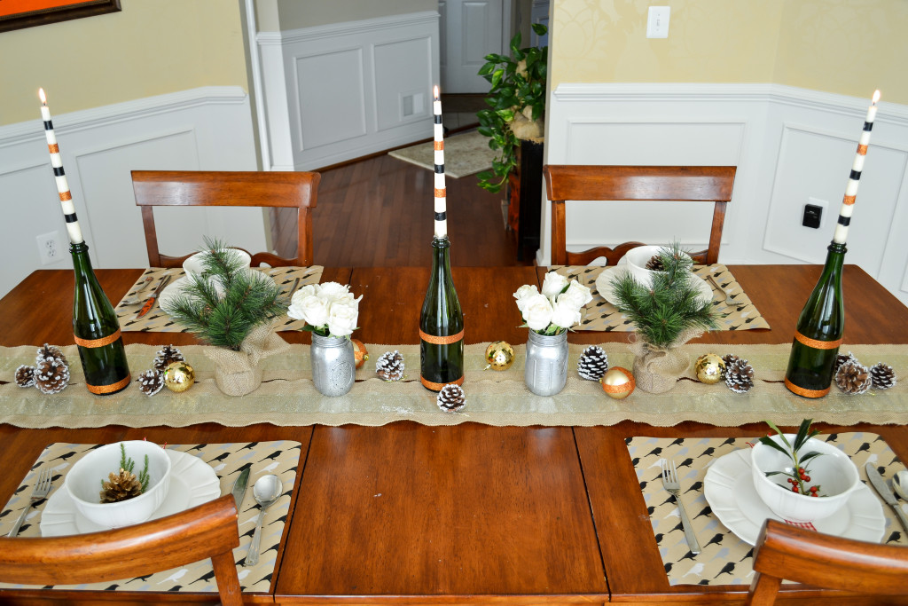 Neutral Holiday Tablescape