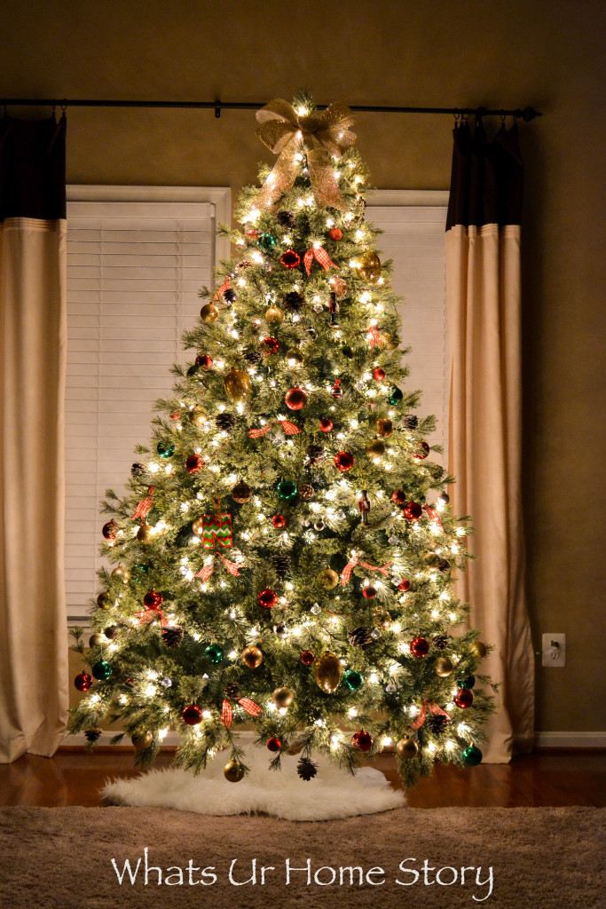 Our 2015 Christmas Tree