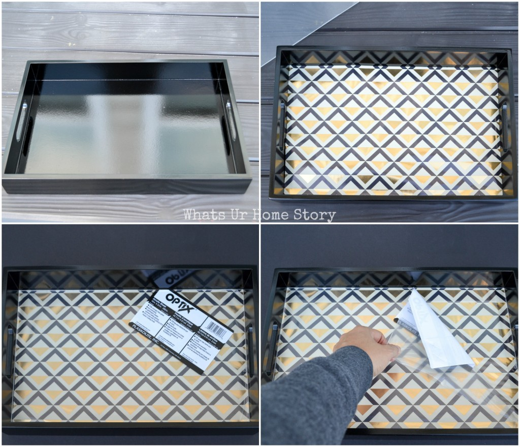 The Easiest Diy Serving Tray Makeover Ever Whats Ur Home Story