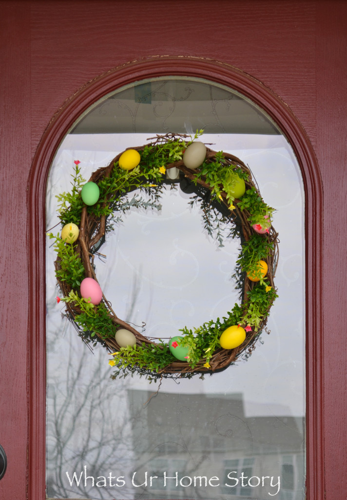 Easter Craft Ideas   Egg Wreath