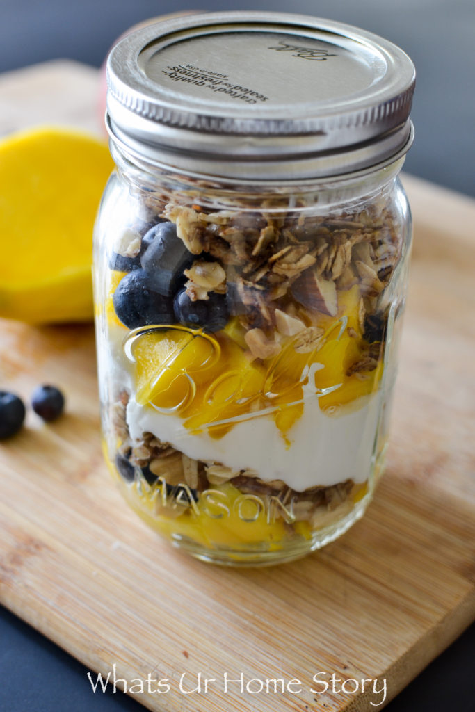 Blueberry Mango Yogurt Parfait