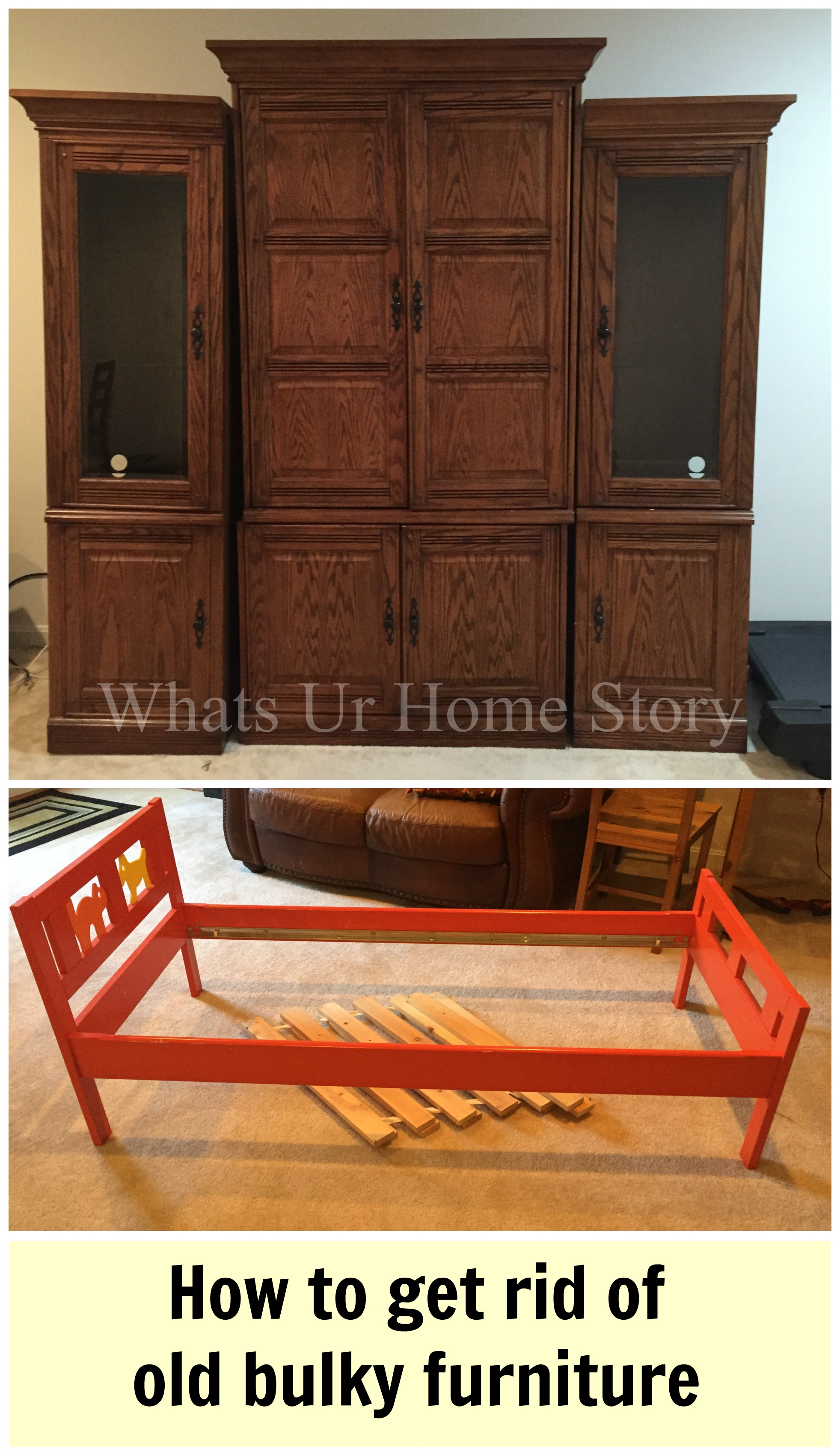 how to get rid of old furniture whats ur home story