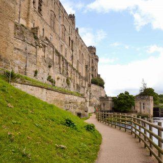 The beautiful Warwick Castle in England