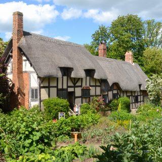 Anne Hathaway's childhood home in Stratford Upon Avon-UK