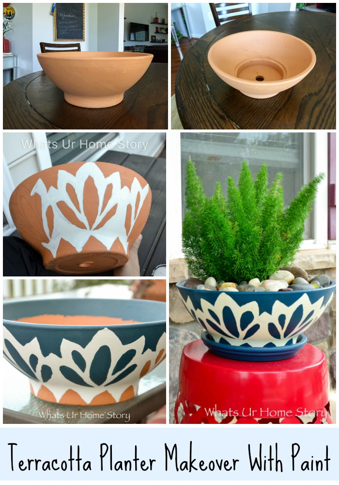 Blue and White Pottery DIY