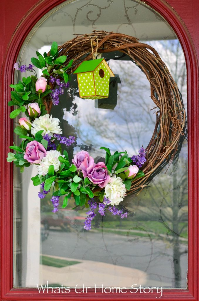 Simple Spring Wreath