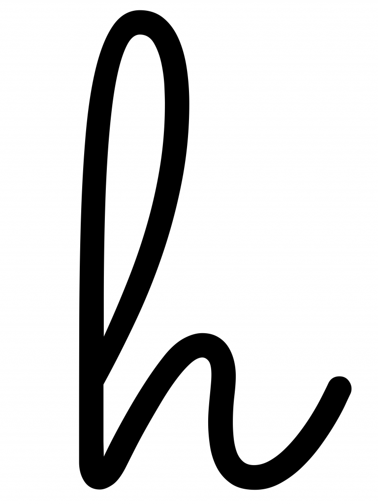 Hello Sign Letters Template