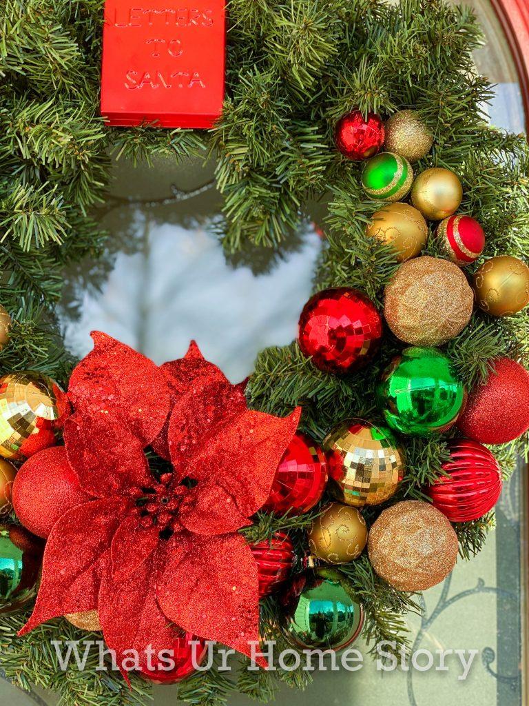 Easy Christmas Wreath DIY