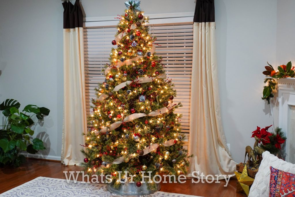 Our 2020 Rustic Glam Christmas Tree