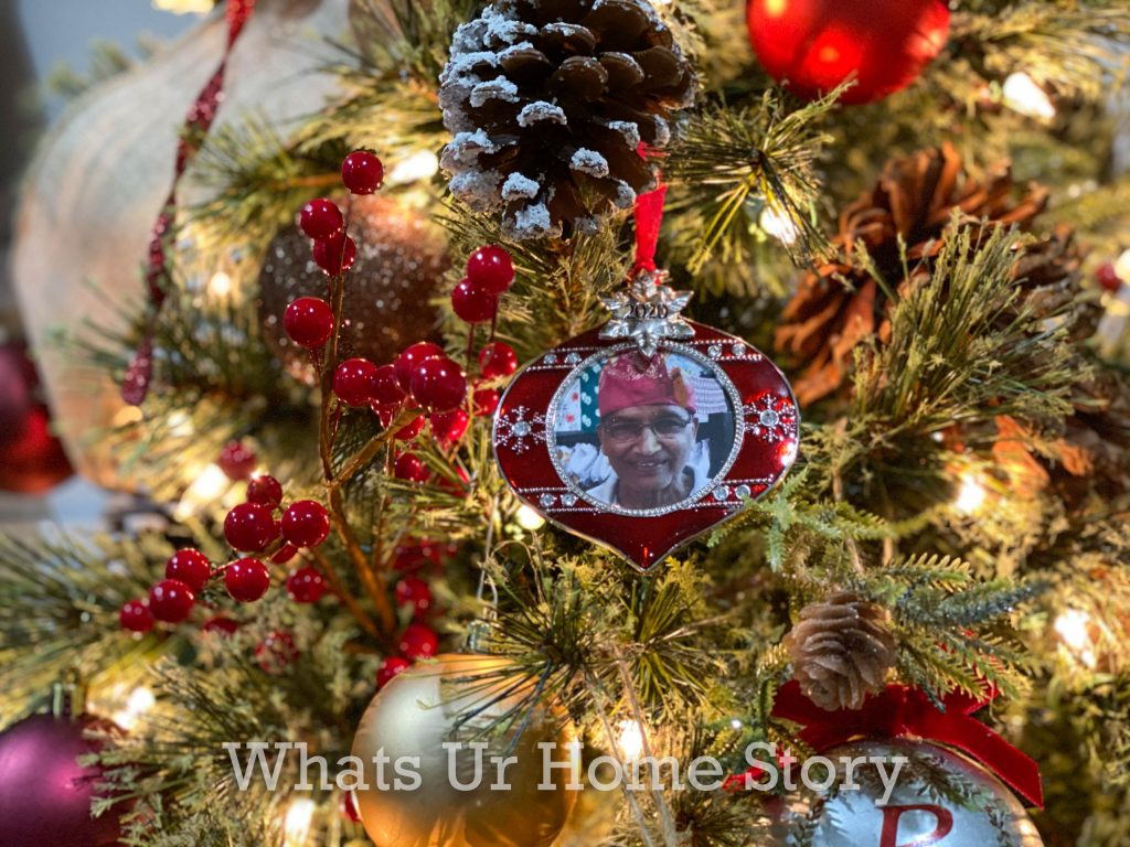 Our 2020 Rustic Glam Christmas Tree Whats Ur Home Story